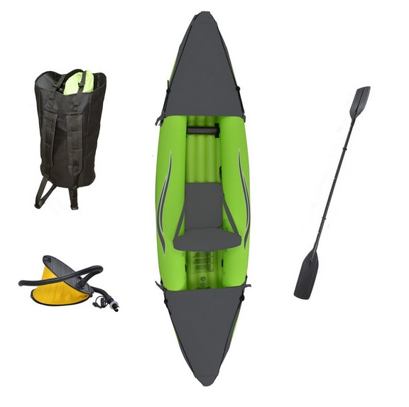 Inflatable Sports Kayak For One Person Outdoor Tuff Stinger 3 OTF-2751PK