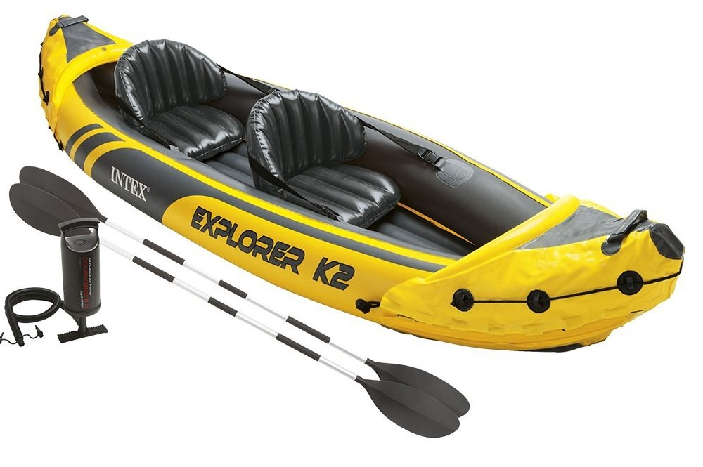 Intex Explorer K2 Kayak Review Tandem Inflatable Kayak