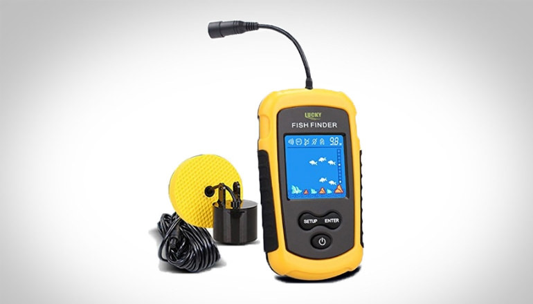 LUCKY Handheld Fish Finder Portable