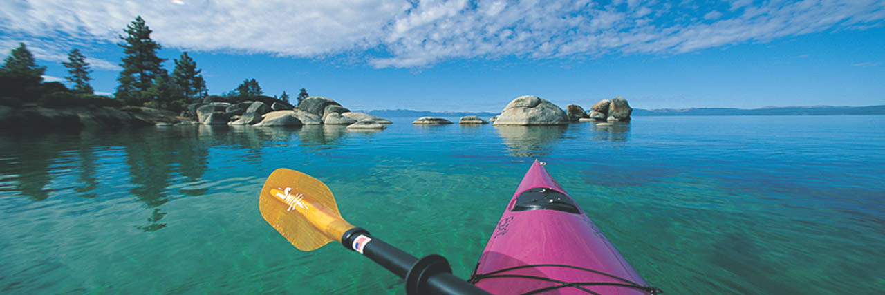 Kayaking In Lake Tahoe