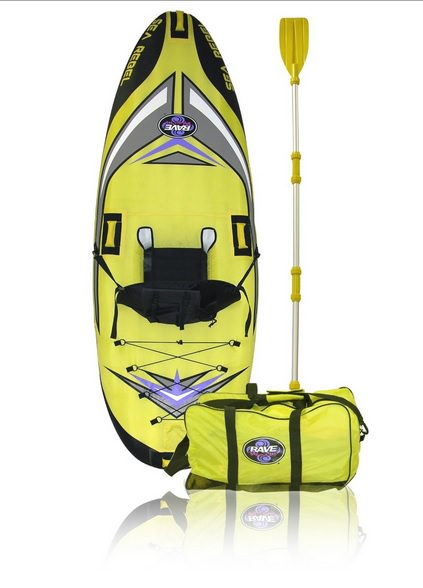 Rave Sea Rebel Inflatable Kayak Review