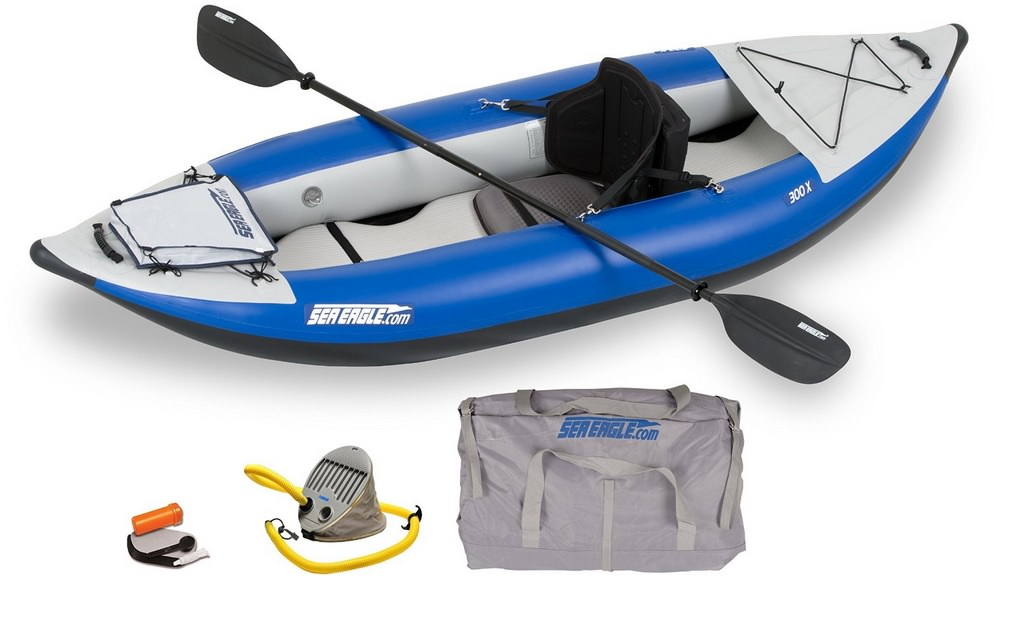 Sea Eagle SE300X Explorer Inflatable Kayak, Pro Package review