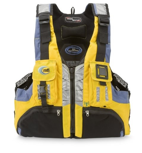 Life jacket for whitewater rafting