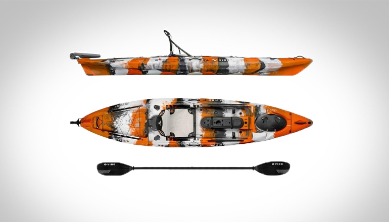 Vibe Sea Ghost 130 Angler Kayak Package