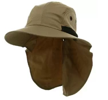 Panel Large Bill Flap Hat for fishing