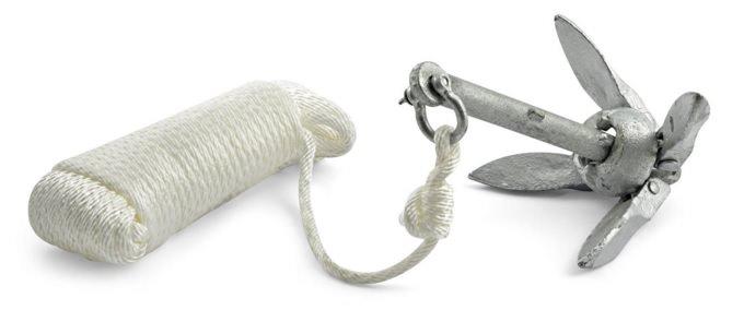 folding anchor kit for Kayak and canoe