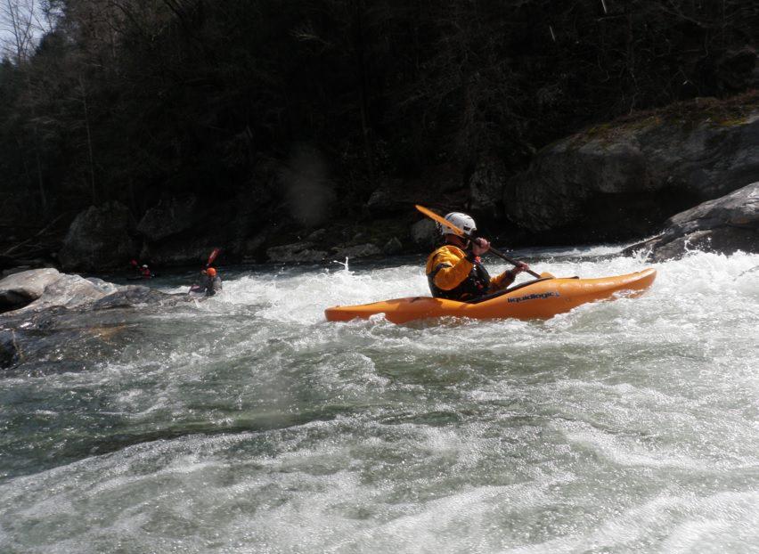 chattooga river kayaking