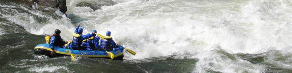 rafting in Gauley River