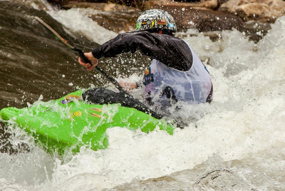 Tontron Adult Whitewater Kayaking Canoeing Watersports Helmet