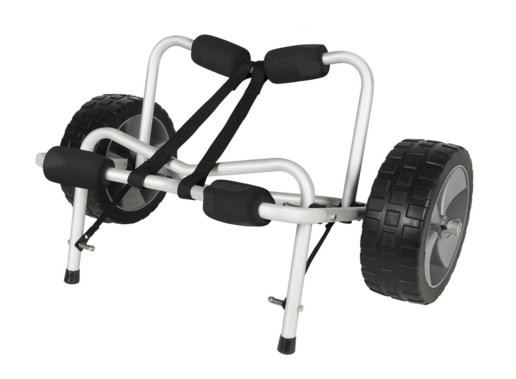 Best Choice Products Kayak Canoe Carrier Dolly Trailer Trolley
