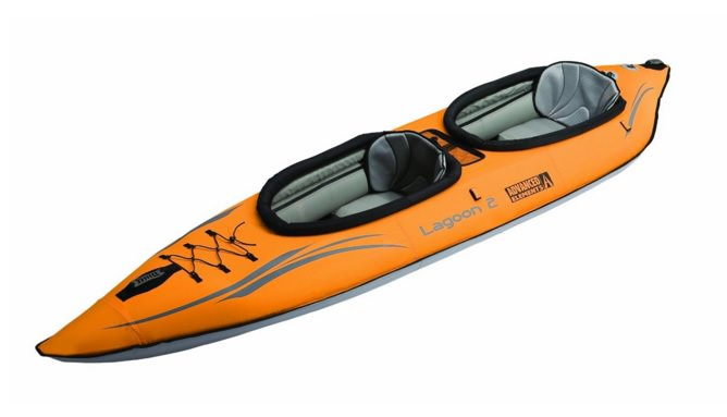 Inflatable tandem kayak