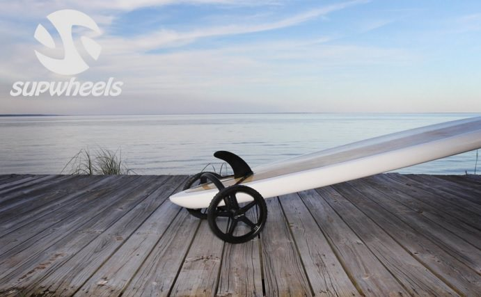 SUP Wheels Classic Standup Paddleboard Trailer and SUP Kayak Carrier