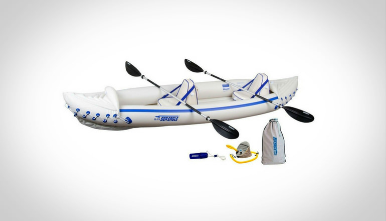 Sea Eagle SE370K Inflatable Kayak Pro
