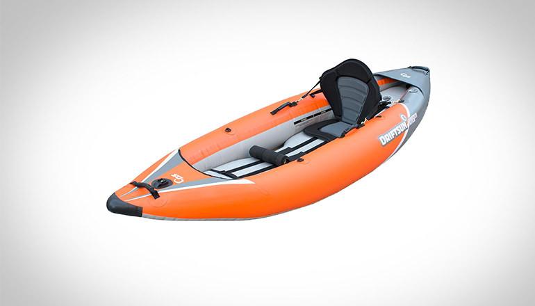 Orange River running inflatable kayak