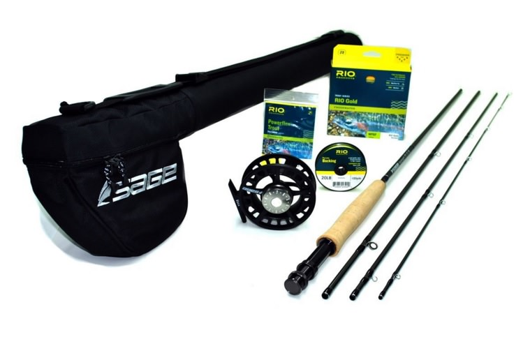 Sage Approach 590-4 Fly Rod Outfit wSage 2250 Reel