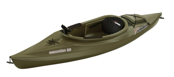 Sun Dolphin Excursion sit-in Fishing Kayak 10-Feet