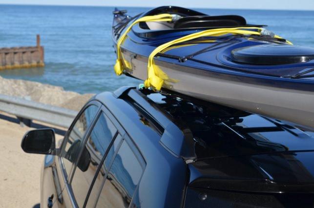 Universal Crossbar Kayak Rack for Car