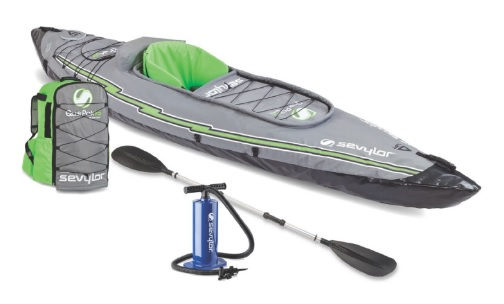 Coleman Quikpak K5 kayak review