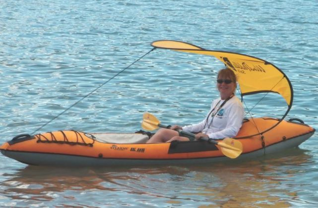 WindPaddle Sails Sun Shade for Kayak and Canoe