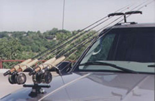 Fishing Rod Transport System Magnetic-Vacuum Rod Racks