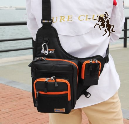 Fishing Tackle Storage Bag Backpack by Life VC