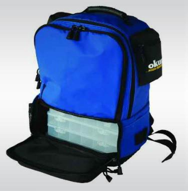 Okuma Tackle Backpack 4 Tray Tackle Bag