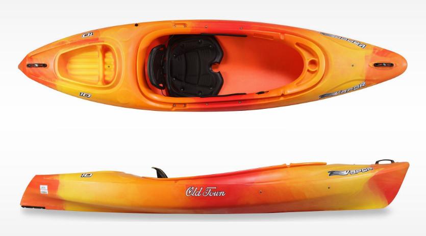 Old Town Canoes & Kayaks Vapor 10 Kayak review