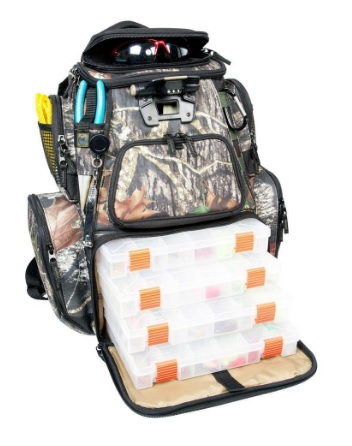Wild River CLC 604 LED Lighted Tackle Camo backpack