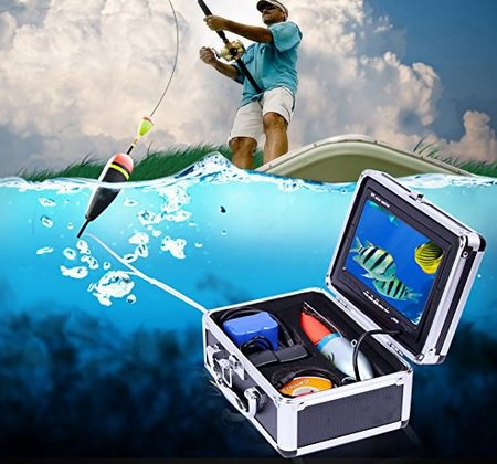 WoSports 7-inch Color Nigh Vision Underwater Fishing Video Camera