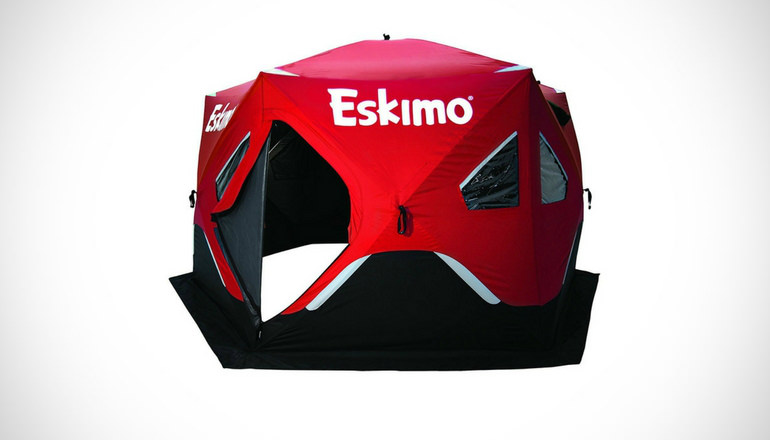 Eskimo Fatfish Six Sided Ice Shelter