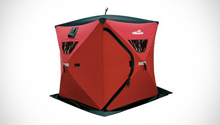 Portable Ice Shelters : Best ice fishing shelter reviews tents