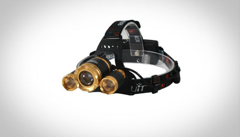 Benran Cree 3 T6 Fishing Headlamp