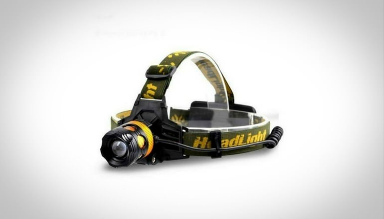 Fishing Flashlight Headlamp