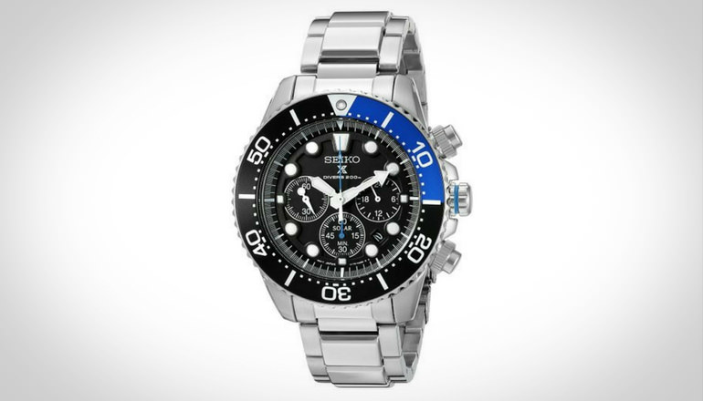 Seiko Men SSC017 Prospex Analog Dive Watch