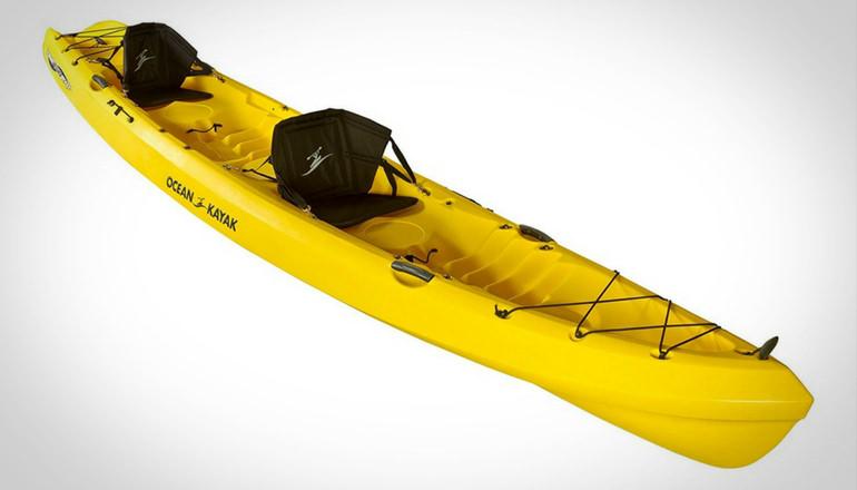 Ocean kayak tandem touring kayak