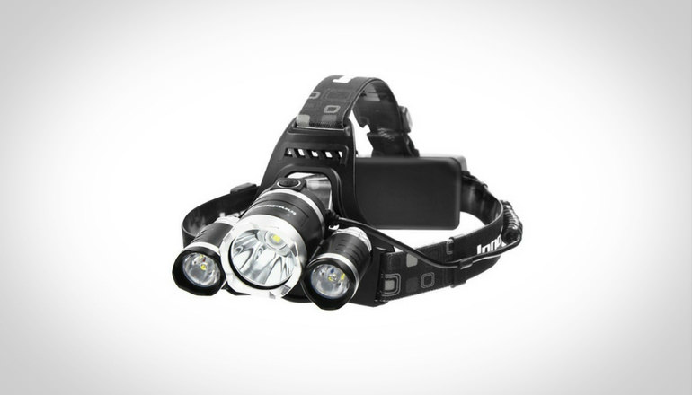 InnoGear 5000 Lumens Bright Headlamp